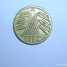 Monedas antiguas de Europa: ALEMANIA 5 REICHSPFENNIG 1924 A (1334). Lote 205867177