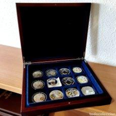 Monedas antiguas de Europa: E15. PRECIOSA COLECCIÓN UNIÓN EUROPEA EN EXCLUSIVO ESTUCHE. VER DESCRIPCIÓN. Lote 206187880