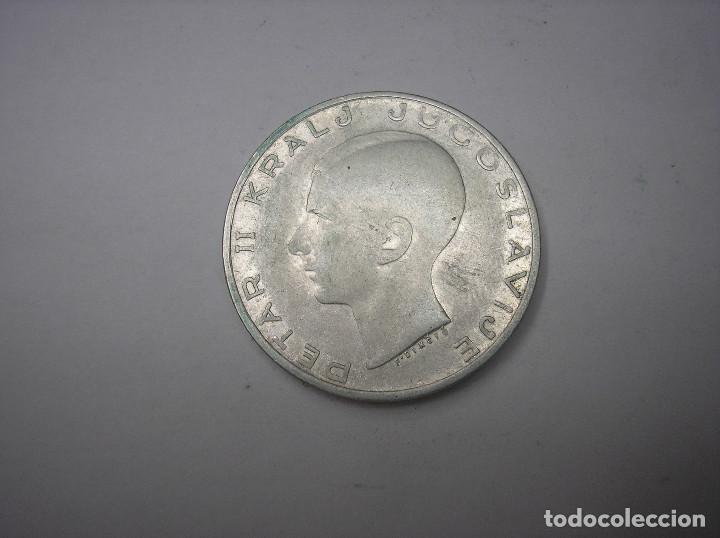 YUGOSLAVIA. 20 DINARES DE PLATA DE 1938 (Numismática - Extranjeras - Europa)