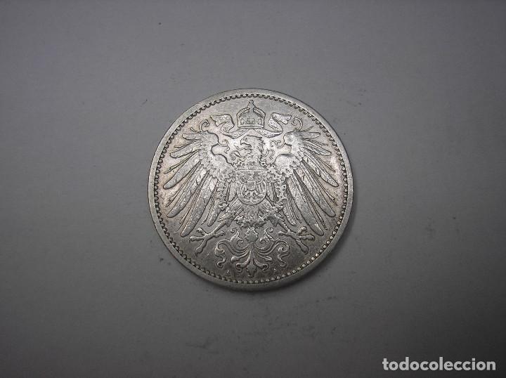 ALEMANIA, 1 MARCO DE PLATA DE 1901 A. KAISER GUILLERMO II (Numismática - Extranjeras - Europa)