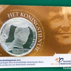 Monedas antiguas de Europa: 10 EUROS 2013 HOLANDA ( PLATA ). Lote 206426995