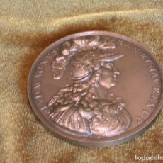 Monedas antiguas de Europa: MONNAIE DE PARÍS,LUIS XIV,,NEC PLURIBUS IMPAR,BRONCE,ESTUCHE ORIGINAL.. Lote 206430362