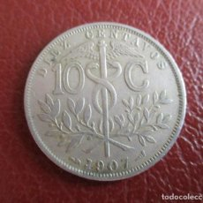 Monedas antiguas de Europa: BOLIVIA , 10 CENTIMOS 1907. Lote 206556146