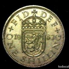 Monedas antiguas de Europa: CHELÍN 1 SHILLING 1961 VARIANTE ESCOCIA REINO UNIDO (A1). Lote 206557085