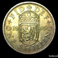 Monedas antiguas de Europa: CHELÍN 1 SHILLING 1965 VARIANTE ESCOCIA REINO UNIDO (A1). Lote 206557291