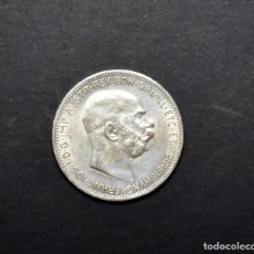 Monedas antiguas de Europa: 1 CORONA DE PLATA DE AUSTRIA DEL AÑO 1915. SIN CIRCULAR.. Lote 206758088
