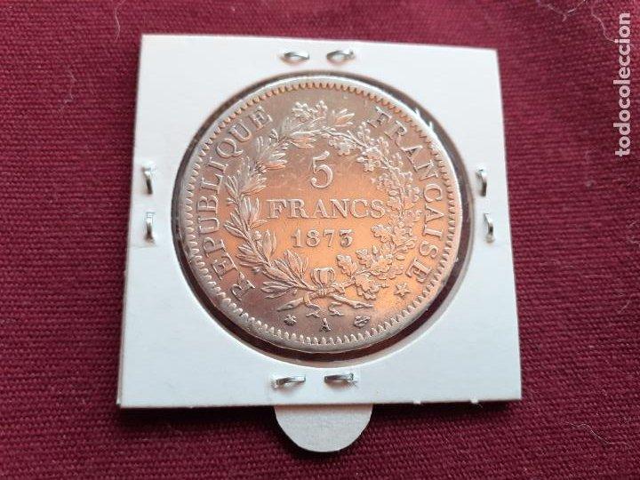 FRANCIA. 5 FRANCOS DE PLATA DE 1873 (Numismática - Extranjeras - Europa)