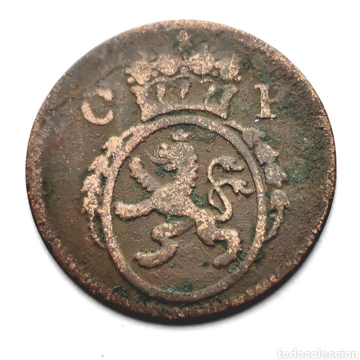 ALEMANIA. PFLAZ. CARL THEODOR. 1/4 KREUZER 1775. 2,1G / 20MM (Numismática - Extranjeras - Europa)