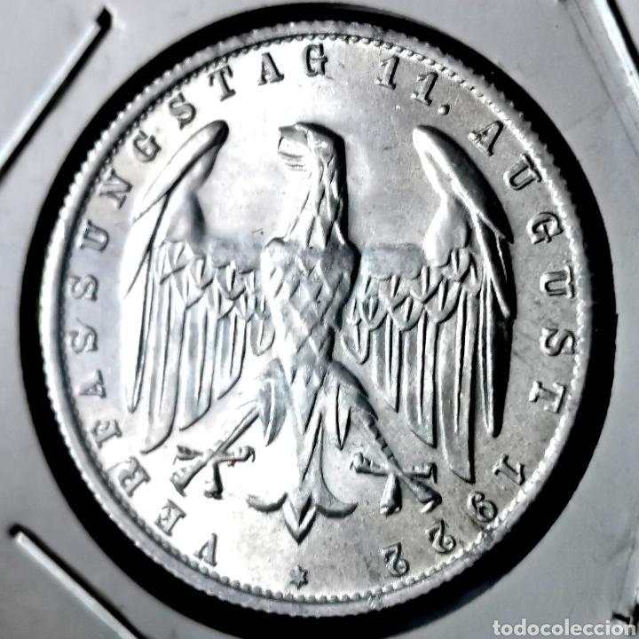 SC. ALEMANIA. 3 MARK 1922J (Numismática - Extranjeras - Europa)