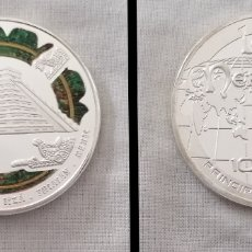 Monedas antiguas de Europa: ANDORRA 2009 - 10 DINERS LAS MARAVILLAS DEL MUNDO CHICHEN ITZA MÉXICO. Lote 207008175