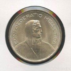 Monedas antiguas de Europa: SUIZA, MONEDA DE PLATA, WILLIAM TELL, VALOR: 5 FRANCS, 1969, SILVER COIN SWITZERLAND. Lote 207041800
