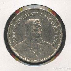 Monedas antiguas de Europa: SUIZA, MONEDA DE PLATA, WILLIAM TELL, VALOR: 5 FRANCS, 1932, SILVER COIN SWITZERLAND. Lote 207043330