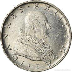 Monedas antiguas de Europa: MONEDA, CIUDAD DEL VATICANO, JOHN XXIII, 50 LIRE, 1959, ROMA, EBC, ACERO. Lote 207044666