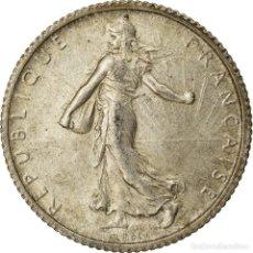Monedas antiguas de Europa: MONEDA, FRANCIA, SEMEUSE, FRANC, 1920, PARIS, EBC, PLATA, KM:844.1, GADOURY:467. Lote 207044682