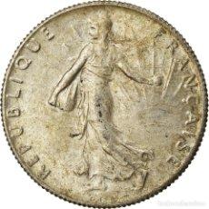 Monedas antiguas de Europa: MONEDA, FRANCIA, SEMEUSE, 50 CENTIMES, 1919, PARIS, EBC, PLATA, KM:854. Lote 207044750