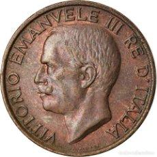 Monedas antiguas de Europa: MONEDA, ITALIA, VITTORIO EMANUELE III, 10 CENTESIMI, 1936, ROME, EBC, BRONCE. Lote 207044760