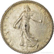 Monedas antiguas de Europa: MONEDA, FRANCIA, SEMEUSE, FRANC, 1920, PARIS, EBC, PLATA, KM:844.1, GADOURY:467. Lote 207044797