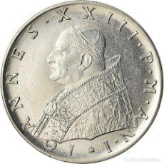 Monedas antiguas de Europa: MONEDA, CIUDAD DEL VATICANO, JOHN XXIII, 100 LIRE, 1959, ROME, EBC+, ACERO. Lote 207044802