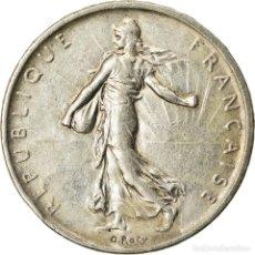 Monedas antiguas de Europa: MONEDA, FRANCIA, SEMEUSE, 5 FRANCS, 1960, PARIS, MBC+, PLATA, KM:926. Lote 207044816