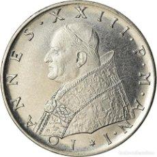 Monedas antiguas de Europa: MONEDA, CIUDAD DEL VATICANO, JOHN XXIII, 100 LIRE, 1959, ROME, EBC+, ACERO. Lote 207044833