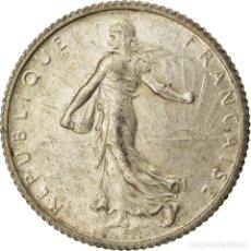Monedas antiguas de Europa: MONEDA, FRANCIA, SEMEUSE, FRANC, 1920, PARIS, EBC, PLATA, KM:844.1, GADOURY:467. Lote 207044886
