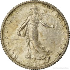 Monedas antiguas de Europa: MONEDA, FRANCIA, SEMEUSE, FRANC, 1917, PARIS, MBC+, PLATA, KM:844.1, GADOURY:467. Lote 207044968
