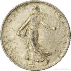 Monedas antiguas de Europa: MONEDA, FRANCIA, SEMEUSE, 2 FRANCS, 1915, PARIS, MBC, PLATA, KM:845.1. Lote 207045056