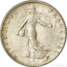 Monedas antiguas de Europa: MONEDA, FRANCIA, SEMEUSE, 50 CENTIMES, 1919, PARIS, EBC, PLATA, KM:854. Lote 207045687