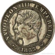 Monedas antiguas de Europa: MONEDA, FRANCIA, NAPOLEON III, 5 CENTIMES, 1853, LILLE, EBC, BRONCE, KM:M23. Lote 207045851