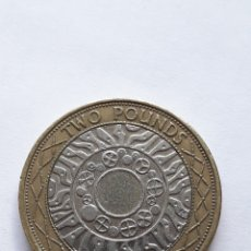 Monete antiche di Europa: 2 LIBRAS ESTERLINAS 1998 TWO POUNDS MONEDA DE REINO UNIDO GRAN BRETAÑA. Lote 207117180