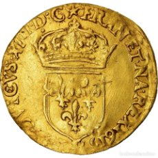 Monedas antiguas de Europa: MONEDA, FRANCIA, LOUIS XIII, ECU D'OR AU SOLEIL, ECU D'OR, 1615, TROYES, MBC. Lote 207154293