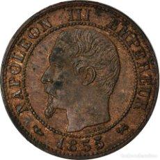Monedas antiguas de Europa: MONEDA, FRANCIA, NAPOLEON III, NAPOLÉON III, CENTIME, 1855, ROUEN, MBC, BRONCE. Lote 207154356
