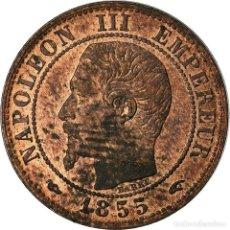 Monedas antiguas de Europa: MONEDA, FRANCIA, NAPOLEON III, NAPOLÉON III, CENTIME, 1855, PARIS, EBC+. Lote 207154390