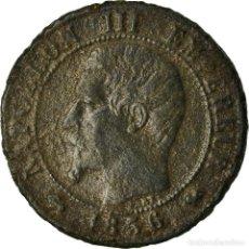 Monedas antiguas de Europa: MONEDA, FRANCIA, NAPOLEON III, NAPOLÉON III, CENTIME, 1856, ROUEN, BC+, BRONCE. Lote 207154516
