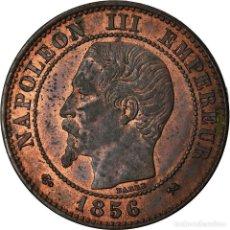 Monedas antiguas de Europa: MONEDA, FRANCIA, NAPOLEON III, NAPOLÉON III, 2 CENTIMES, 1856, ROUEN, EBC. Lote 207154640