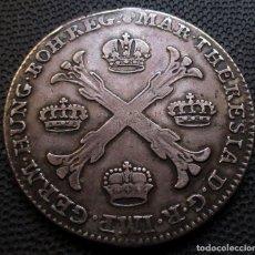Monedas antiguas de Europa: PAISES BAJOS AUSTRIACOS KRONENTHALER 1765 MARIA THERESA DE HABSBURGO -PLATA-. Lote 207195720