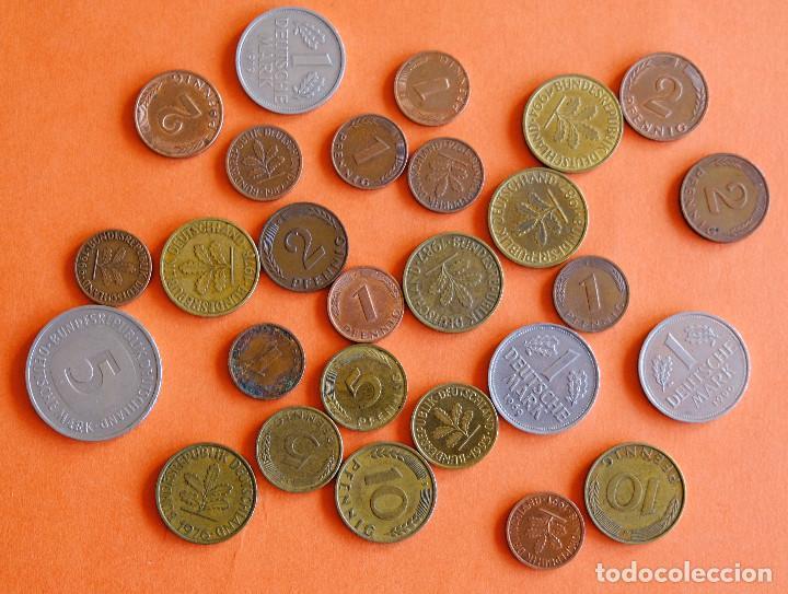 LOTE MONEDAS ALEMANIA ANTES DEL EURO (Numismática - Extranjeras - Europa)