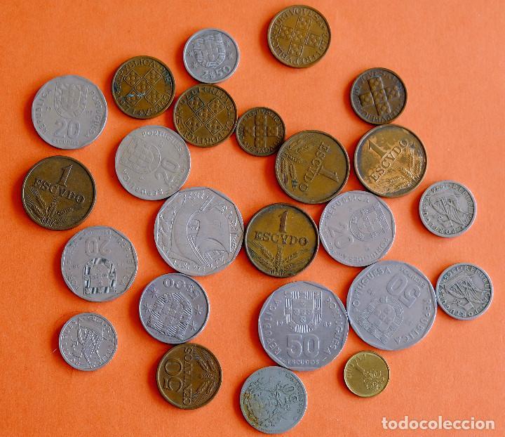 LOTE DE MONEDAS DE PORTUGAL ANTES DEL EURO. UNA DE 1929 (Numismática - Extranjeras - Europa)
