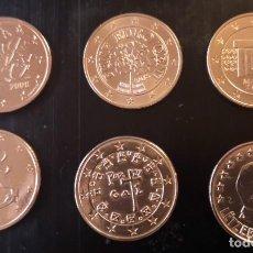 Monedas antiguas de Europa: COLECCIÓN DE 6 MONEDA DE 5 CÉNTIMOS DE EURO DEL AÑO 2008. DISTINTOS PAISES. Lote 207323808