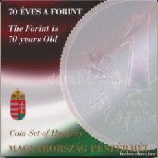 Monedas antiguas de Europa: HUNGRIA 2016 PROOF SERIE EN BLISTER Y CONMEMORATIVA DE 50 FORINT. Lote 207324713