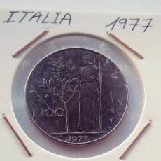 Monedas antiguas de Europa: ITALIA, 100 LIRAS DE 1977. Lote 207324766