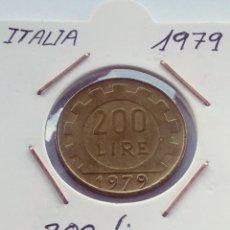 Monedas antiguas de Europa: ITALIA, 200 LIRAS DE 1979. Lote 207325293
