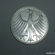 Monedas antiguas de Europa: ALEMANIA 5 MARCOS PLATA 1963 G (1857). Lote 207336172