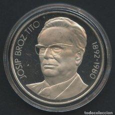 Monedas antiguas de Europa: YUGOSLAVIA, MONEDA DE PLATA, JOSIP BROZ TITO, VALOR: 1000 DINARA, 1980, SILVER COIN. Lote 207336213