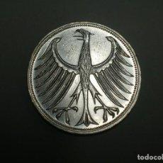 Monedas antiguas de Europa: ALEMANIA 5 MARCOS PLATA 1966 F (1868). Lote 207336763