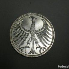 Monedas antiguas de Europa: ALEMANIA 5 MARCOS PLATA 1971 J (1891). Lote 207337952