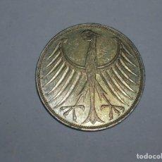 Monedas antiguas de Europa: ALEMANIA 5 MARCOS PLATA 1972 D (1892). Lote 207338005