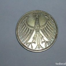 Monedas antiguas de Europa: ALEMANIA 5 MARCOS PLATA 1972 F (1893). Lote 207338070
