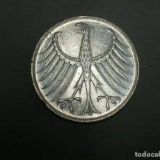 Monedas antiguas de Europa: ALEMANIA 5 MARCOS PLATA 1972 G (1894). Lote 207338110