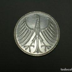 Monedas antiguas de Europa: ALEMANIA 5 MARCOS PLATA 1974 G (1902). Lote 207338411